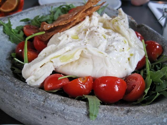 Burrata-Tomaten