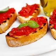 Yummy Tomato Bruschetta
