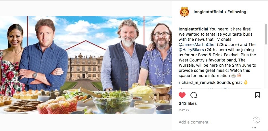 Hairy Bikers are coming to Longleat for my balls